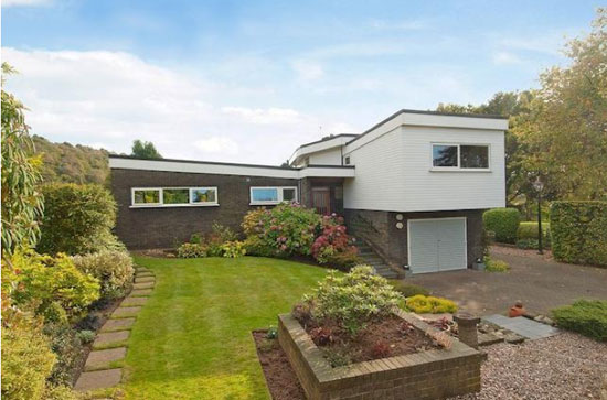 1960s four-bedroom midcentury modern property in Tarporley, Cheshire