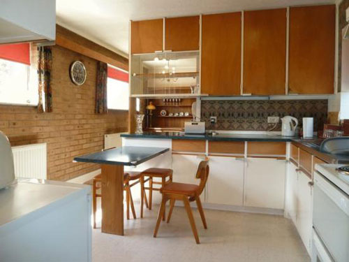 1960s four-bedroomed architect-designed house in Tarleton, near Preston, Lancashire