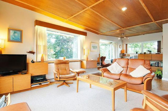 1960s four-bedroom midcentury modern property in Tarporley, Cheshire