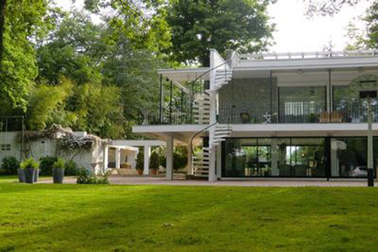 On the market: 1960s midcentury four-bedroom home in Tassin-la-Demi-Lune, Rhone, eastern France