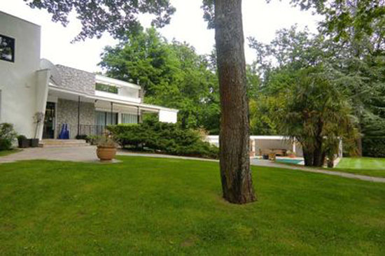 1960s midcentury four-bedroom home in Tassin-la-Demi-Lune, Rhone, eastern France