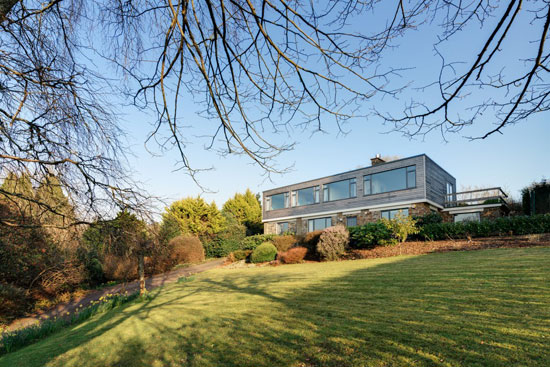 On the market: 1960s Rossington & Fogden-designed modernist property in Tavistock, Devon