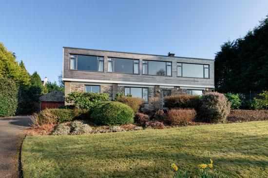 1960s Rossington & Fogden-designed modernist property in Tavistock, Devon
