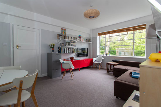1930s art deco apartment in the George Bertram Carter-designed Taymount Grange in Forest Hill, London SE23
