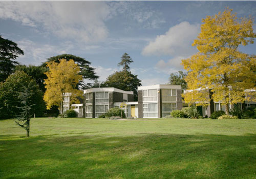 On the market: Eric Lyons-designed Span House on the Templemere Estate, Walton-on-Thames, Surrey