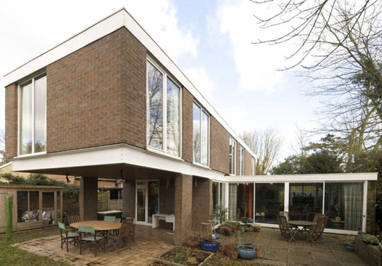 On the market: 1970s Norman W. T. Brooks-designed four-bedroom modernist property in Tiptree, Essex