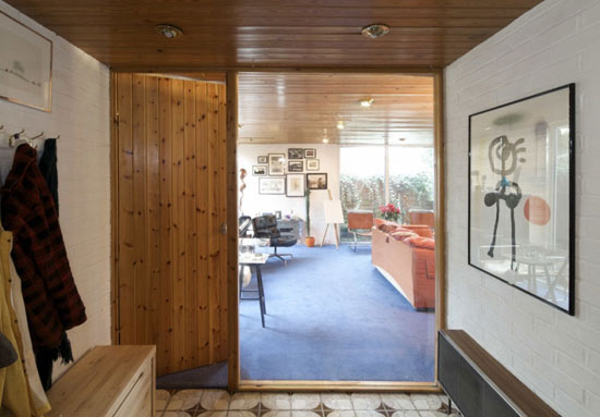1970s Norman W. T. Brooks-designed four-bedroom modernist property in Tiptree, Essex
