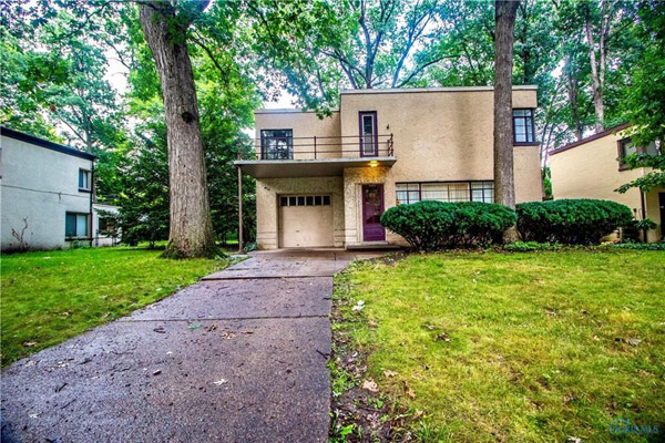 Bargain spotting: 1930s art deco property in Toledo, Ohio, USA