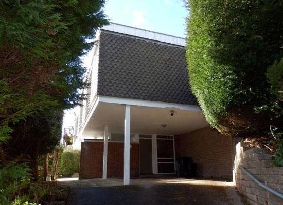 1960s architect-designed property in Torquay, Devon