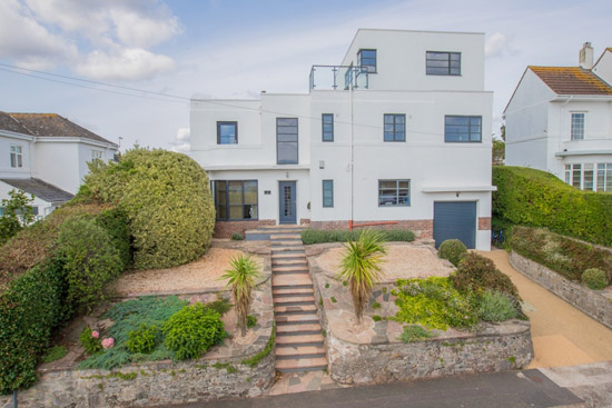 1920s Mango House modernist property in Torquay, Devon