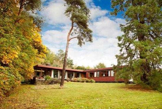 1960s Alan Reiach-designed midcentury modern property in Torphichen, West Lothian, Scotland