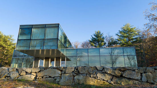 Toshiko Mori modernist property in Garrison, New York