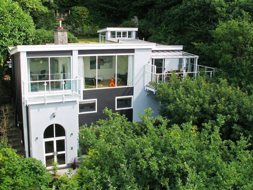 On the market: Architect-designed five-bedroomed hillside house in Totley, Sheffield, Yorkshire