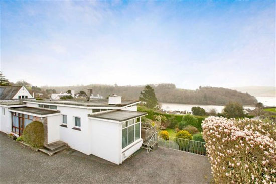 On the market: Mill Meadow 1960s three-bedroom modernist property in Totnes, Devon