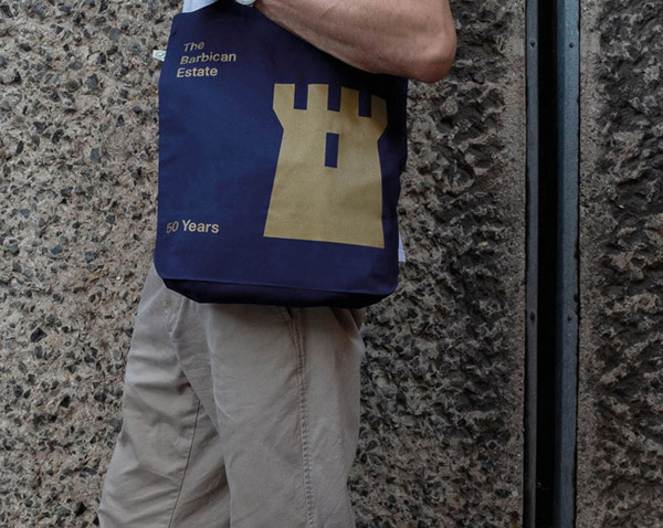 Barbican Estate limited edition tote bags by Stefi Orazi