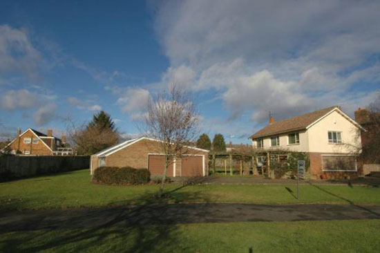 On the market: 1950s architect-designed three bedroom house in Towcester, Northamptonshire