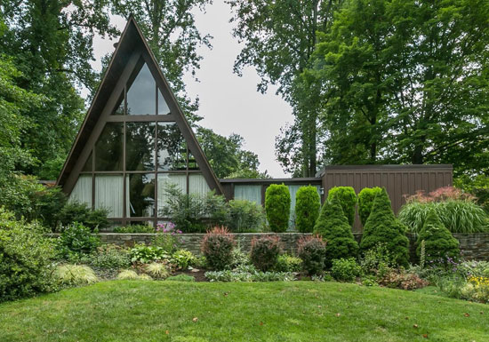 On the market: 1960s Donald Ratcliffe-designed midcentury property in Towson, Maryland, USA