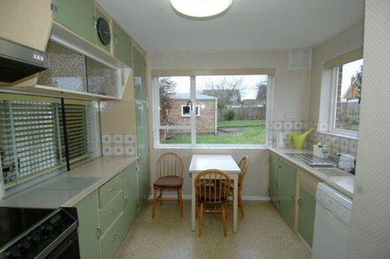 1950s architect-designed three bedroom house in Towcester, Northamptonshire