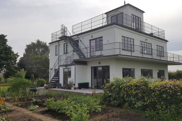 The Control Tower art deco-style AirBnb in York, North Yorkshire