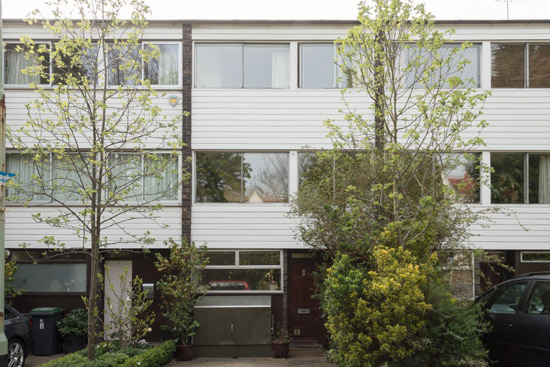 On the market: 1960s Andrews, Emerson, Sherlock & Keable-designed townhouse in London N6