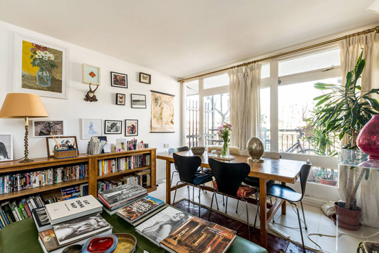 Brutalist apartment: One-bedroom flat in the Erno Goldfinger-designed Trellick Tower, London W10
