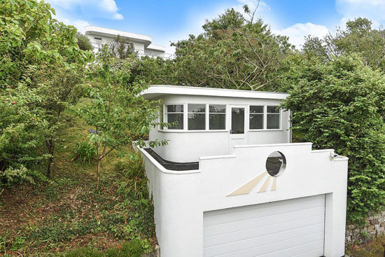 1920s art deco: Four-bedroom property in Truro, Cornwall