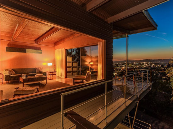 On the market: 1950s Robert A. Pratt-designed midcentury property in Los Angeles, California, USA
