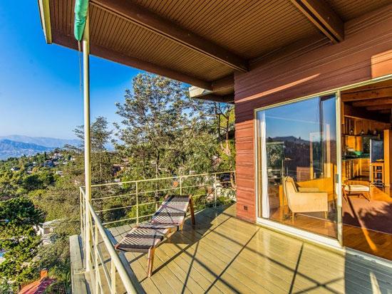 1950s Robert A. Pratt-designed midcentury property in Los Angeles, California, USA