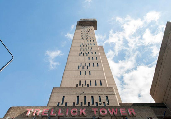 On the market: Sixth-floor apartment in the grade II-listed Erno Goldfinger-designed Trellick Tower in London W10