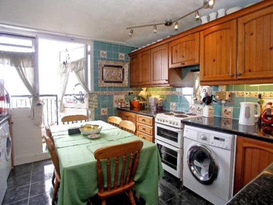 Three-bedroom apartment at the top of the 1970s brutalist Trellick Tower, Golborne Road, Ladbroke Grove, London W10