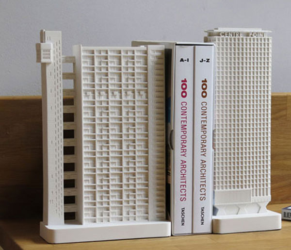 19. Miniature architectural classics by Chisel and Mouse