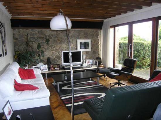 1960s architect-designed four-bedroom bungalow in Trottiscliffe, West Malling, Kent