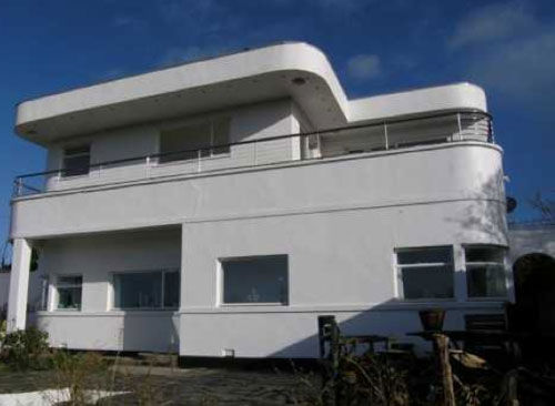 On the market: Four-bedroom art deco house in Truro, Cornwall