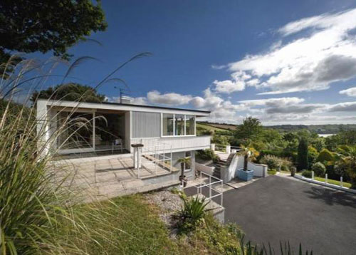 On the market: 1960s modernist Otter Creek house in Calenick, Truro, Cornwall