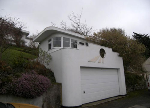 Four-bedroom art deco house in Truro, Cornwall