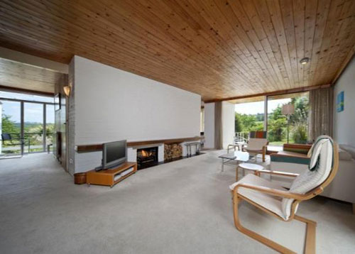 1960s modernist Otter Creek house in Calenick, Truro, Cornwall