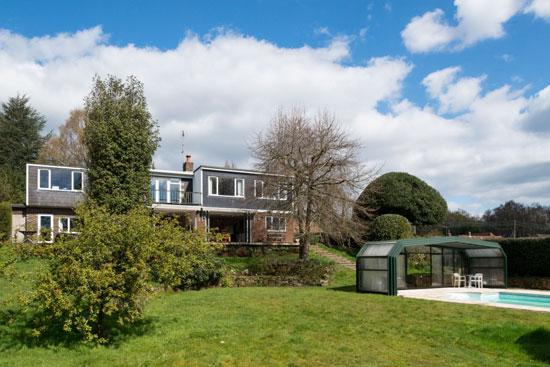 1960s David Addey-designed modernist property in Frant, near Tunbridge Wells, Kent