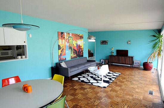 Three-bedroom 1950s midcentury modern property in Tulsa, Oklahoma, USA