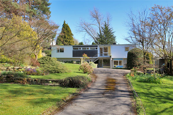 1960s David Addey modern house in Tunbridge Wells, Kent