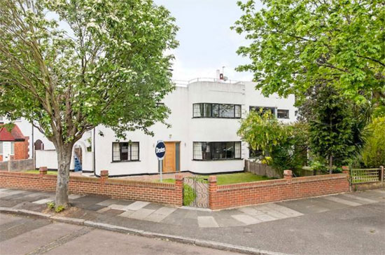 On the market: 1930s semi-detached art deco property in Twickenham, Greater London