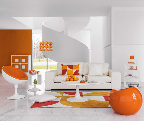 Twiggy space age furniture range at Maisons Du Monde