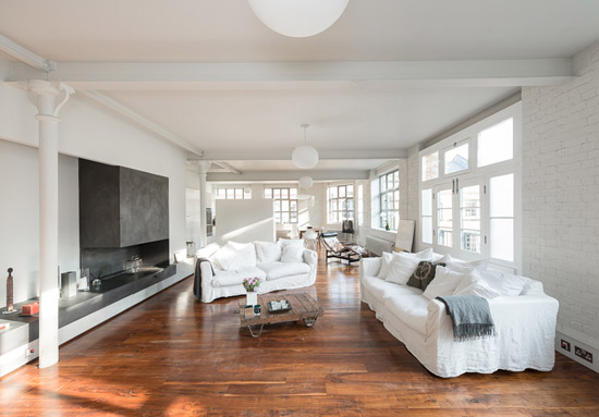 On the market: Two-bedroom warehouse conversion apartment in London N1