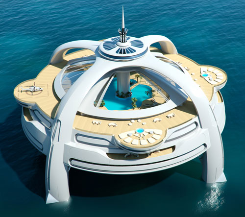 A Bond villain's lair: Project Utopia sea-based luxury house