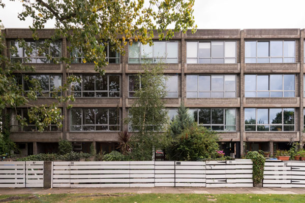 1960s modernism: Arthur Rubenstein-designed four-storey property in London SE3