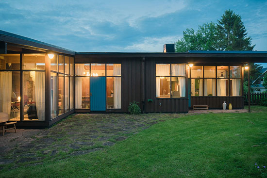 On the market: 1950s Greta Magnusson Grossman-designed Villa Sundin in Hudiksvall, Sweden