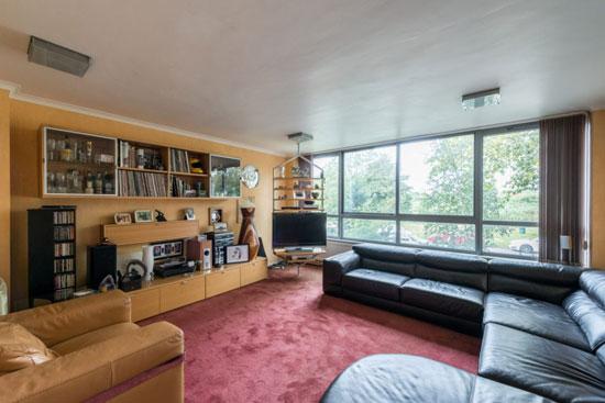 1960s modernism: Arthur Rubenstein-designed four-storey property in London SE3