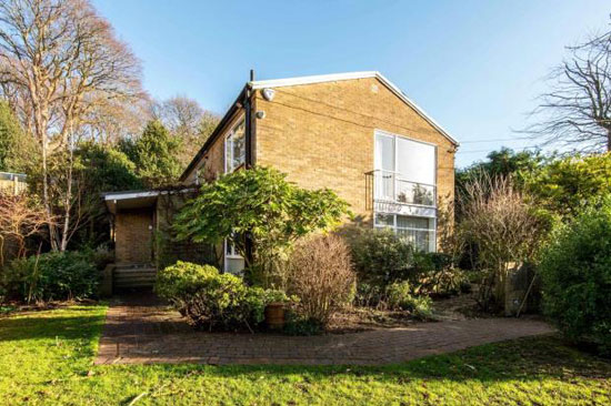 1950s modern house in Hampstead, London NW3