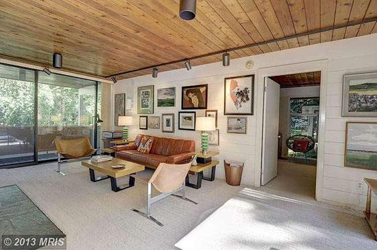 1950s Casper Neer-designed midcentury modern property in Alexandria, Virginia, USA
