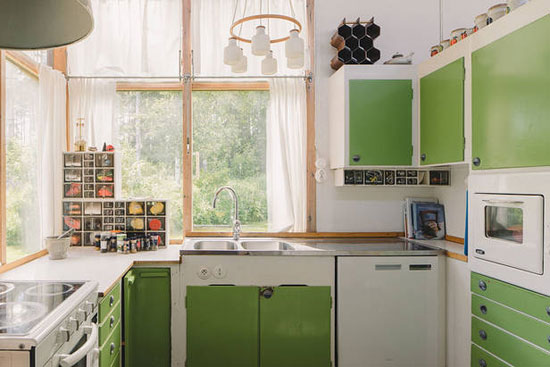 1950s Greta Magnusson Grossman-designed Villa Sundin in Hudiksvall, Sweden