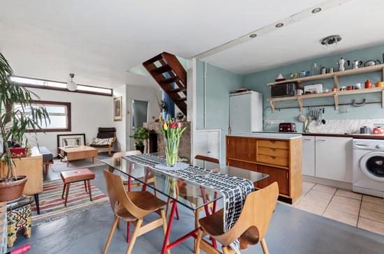1960s Chamberlin, Powell and Bon house on Vanbrugh Park Estate, London SE3